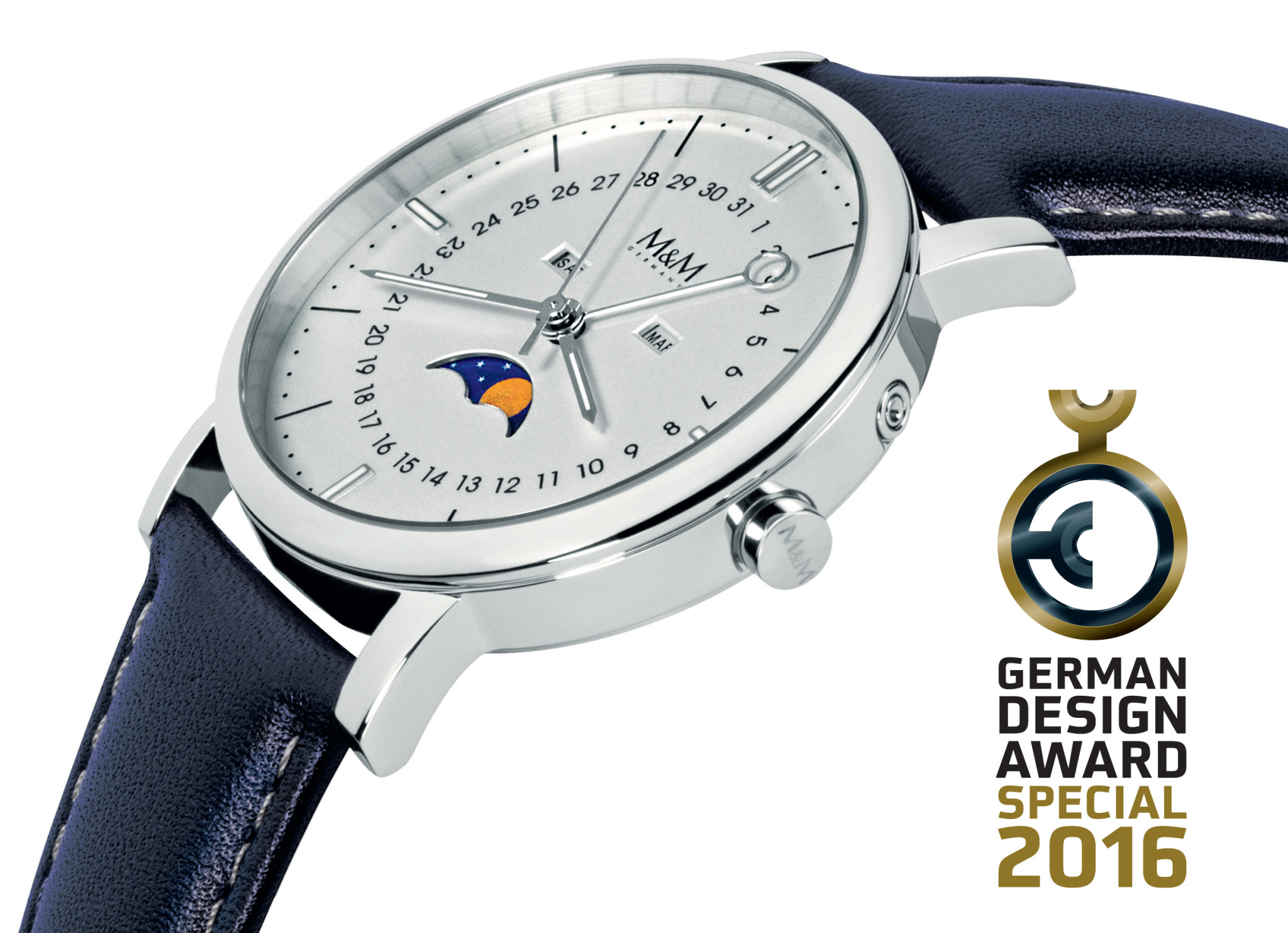 National award for M&M Germany\'s Moonphase design - WatchPro USA
