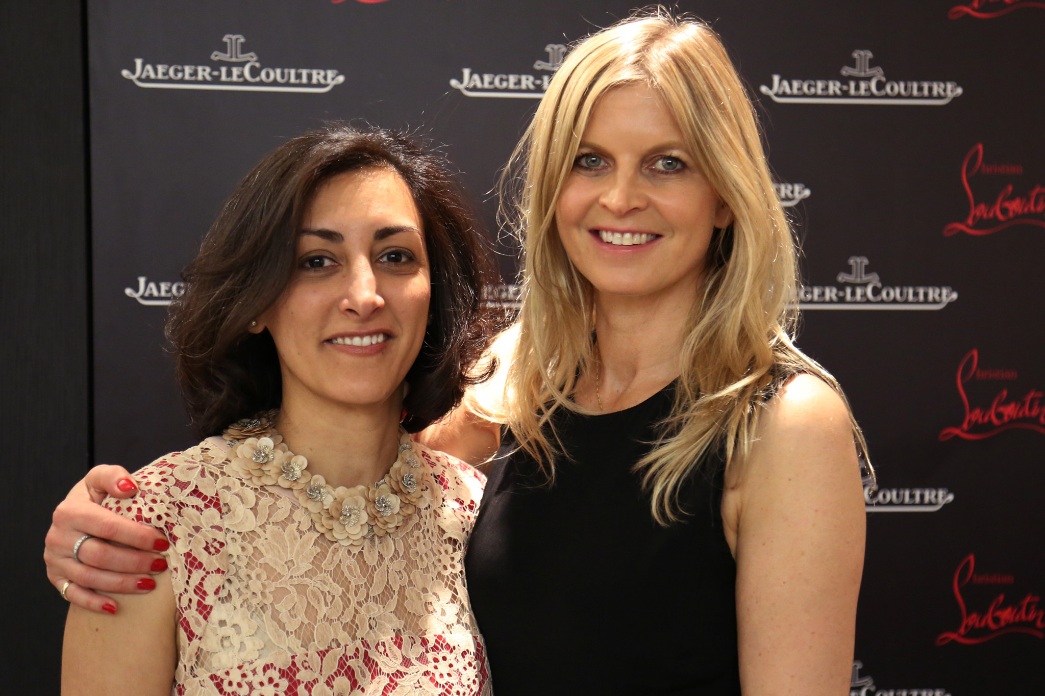 Jaeger-LeCoultre UK and Global Strategy Director, Zahra Kassim-Lakha adnd Polo Ambassador Clare Milford Haven