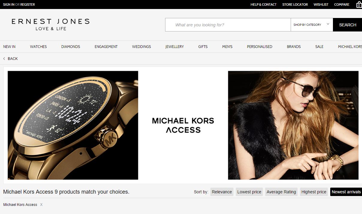 official michael kors website