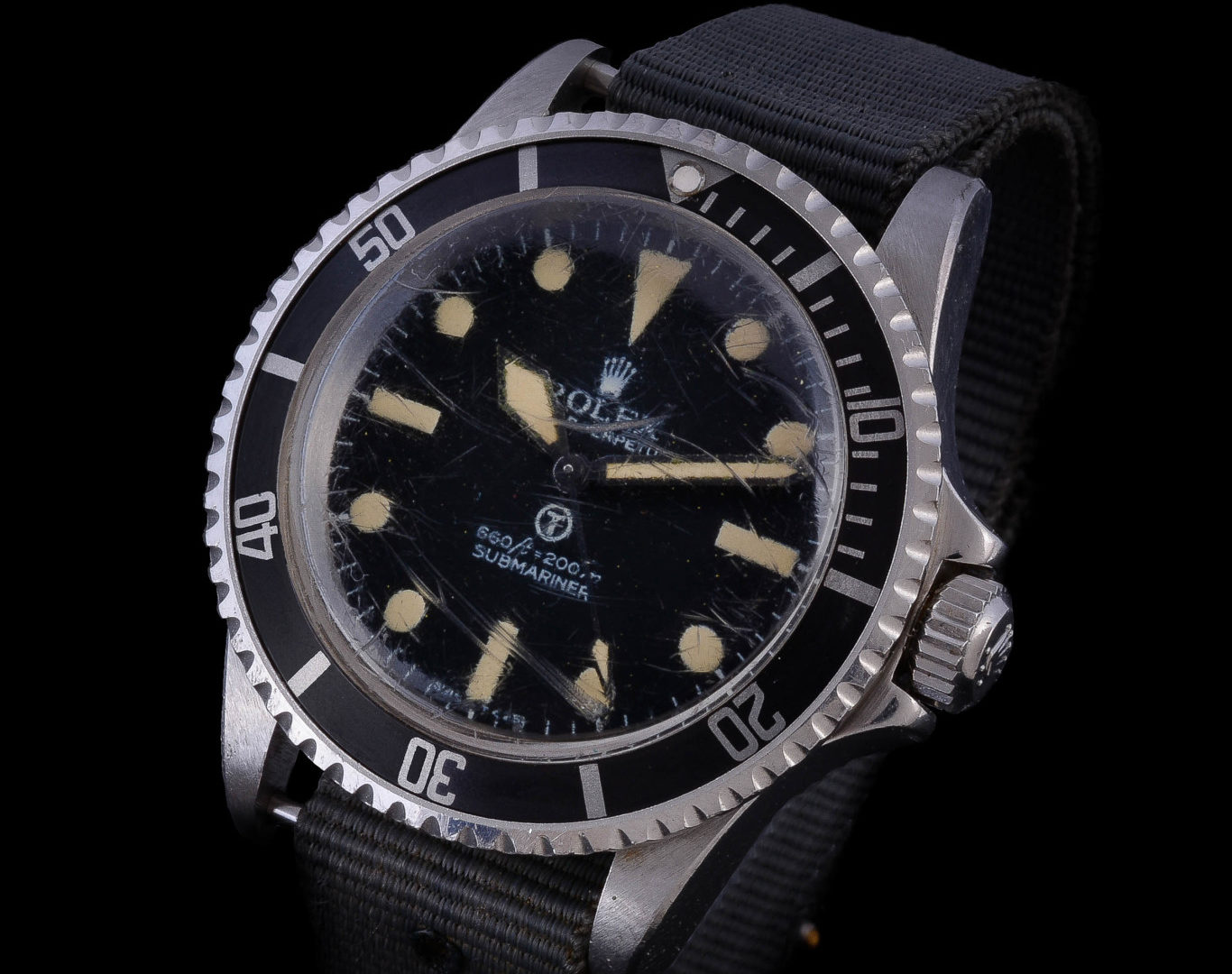 Rolex Oyster Perpetual Military Submariner (1)