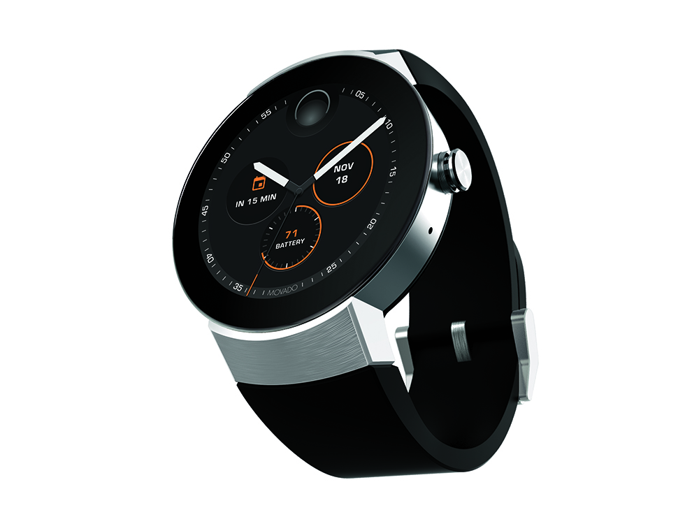 Movado Unveils Its First Smartwatch At Baselworld Watchpro Usa