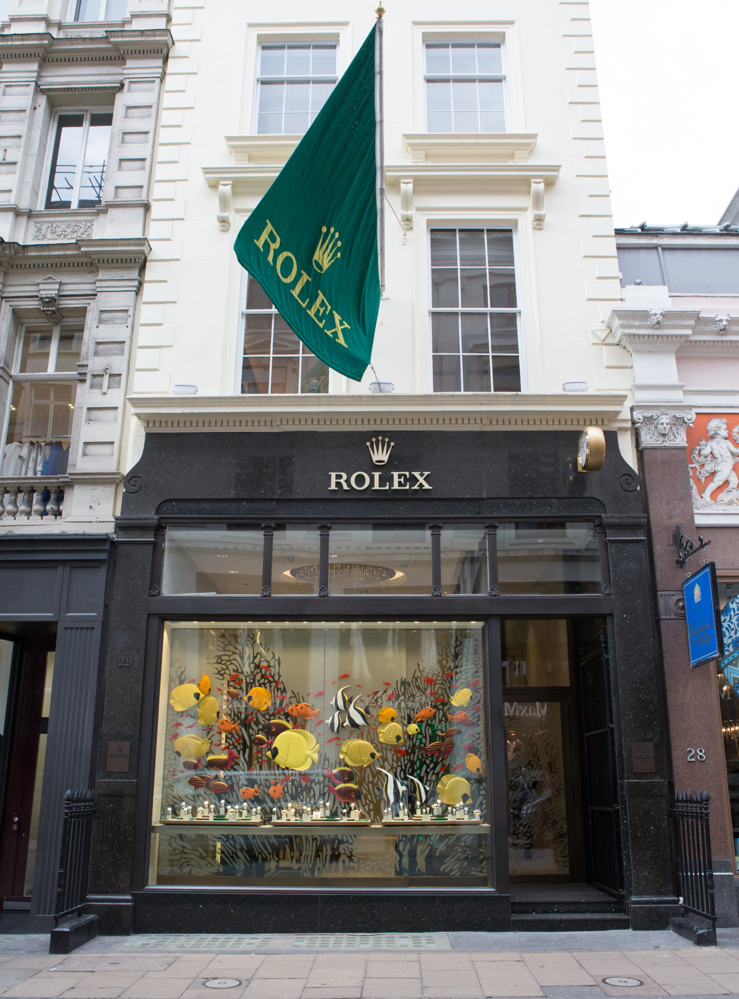 Rolex Boutique Opening Old Bond St-4340