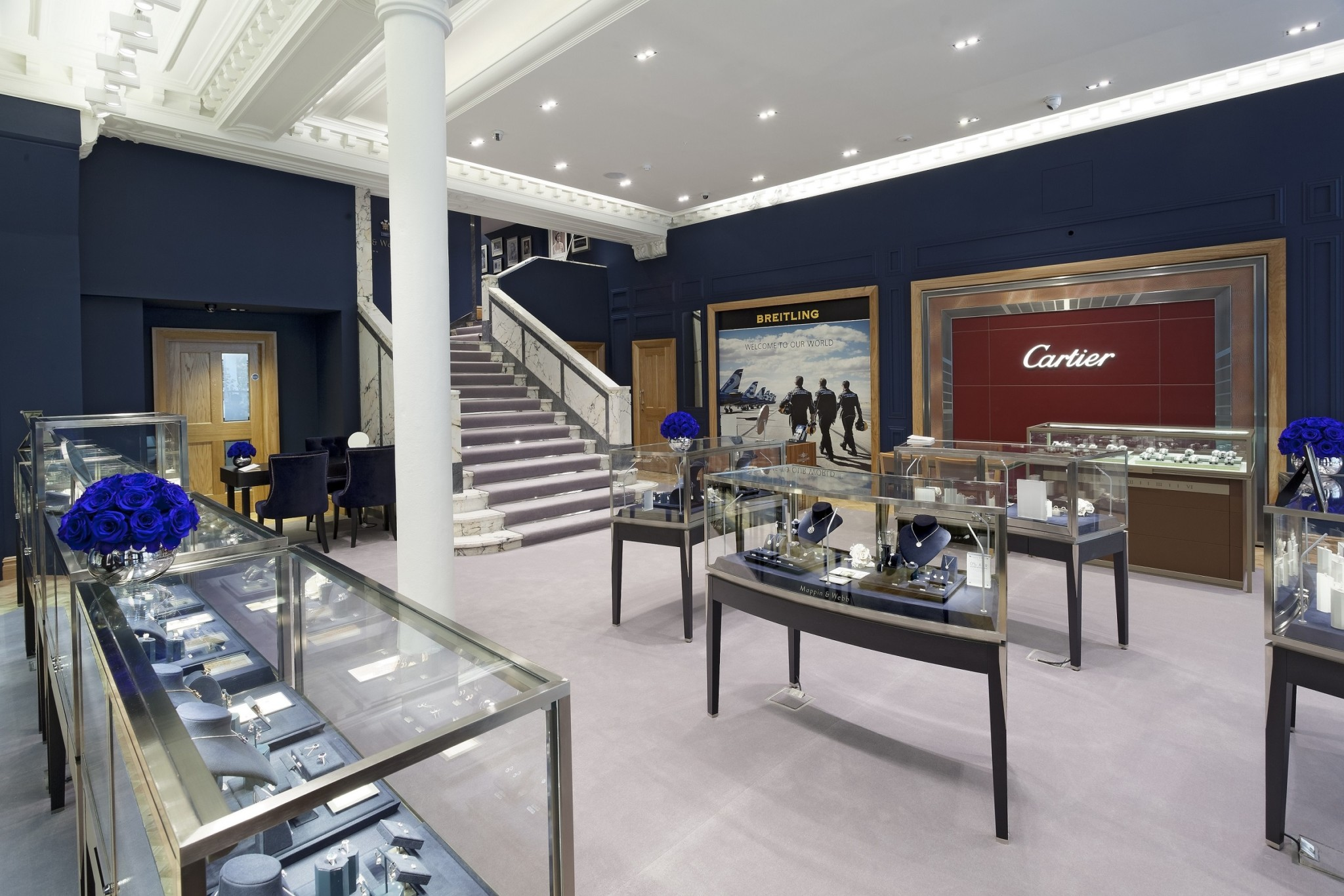 The Mappin & Webb showroom in Glasgow – lower floor (2)