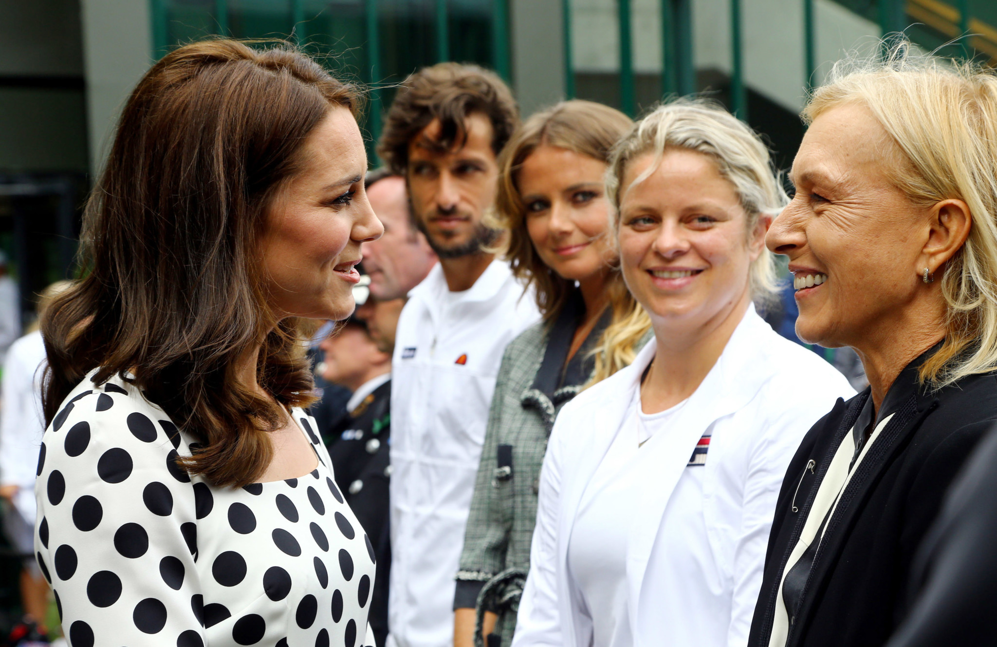 The Duchess of Cambridge Visits The All England Lawn Tennis and Croquet Club