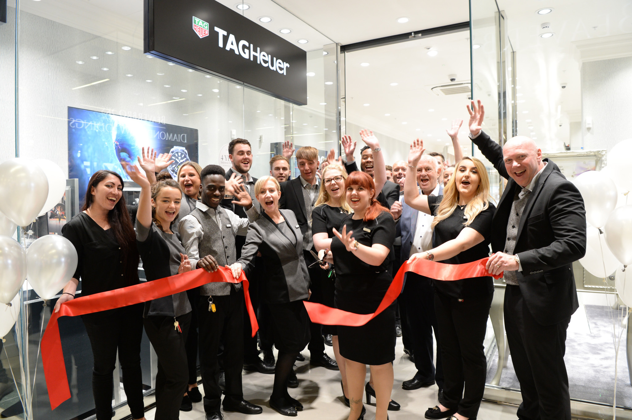 Beaverbrooks celebrates its 71st opening in The Friary Shopping centre, Guildford
