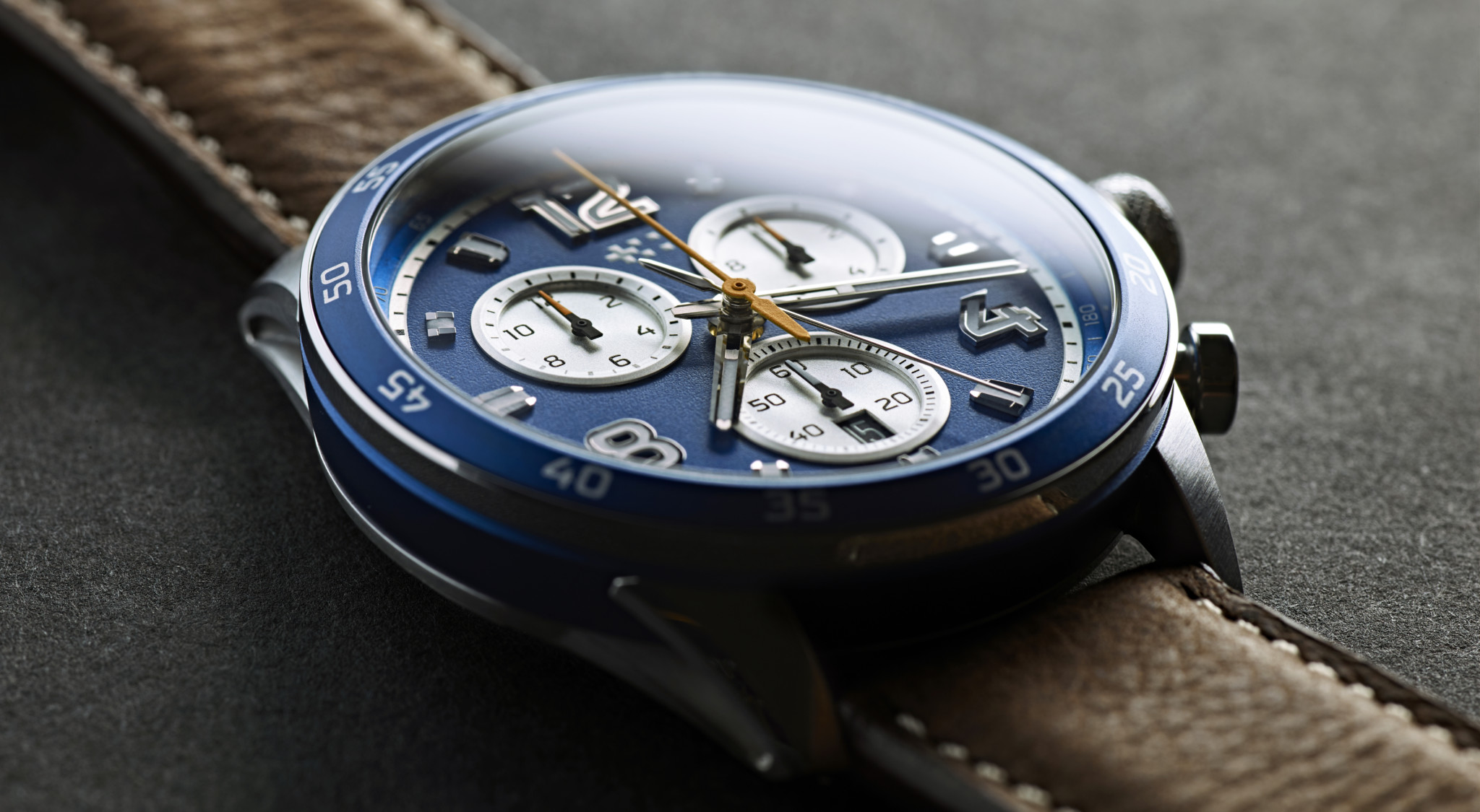 Christopher Ward Fires Up A Motor Racing Inspired Range Of