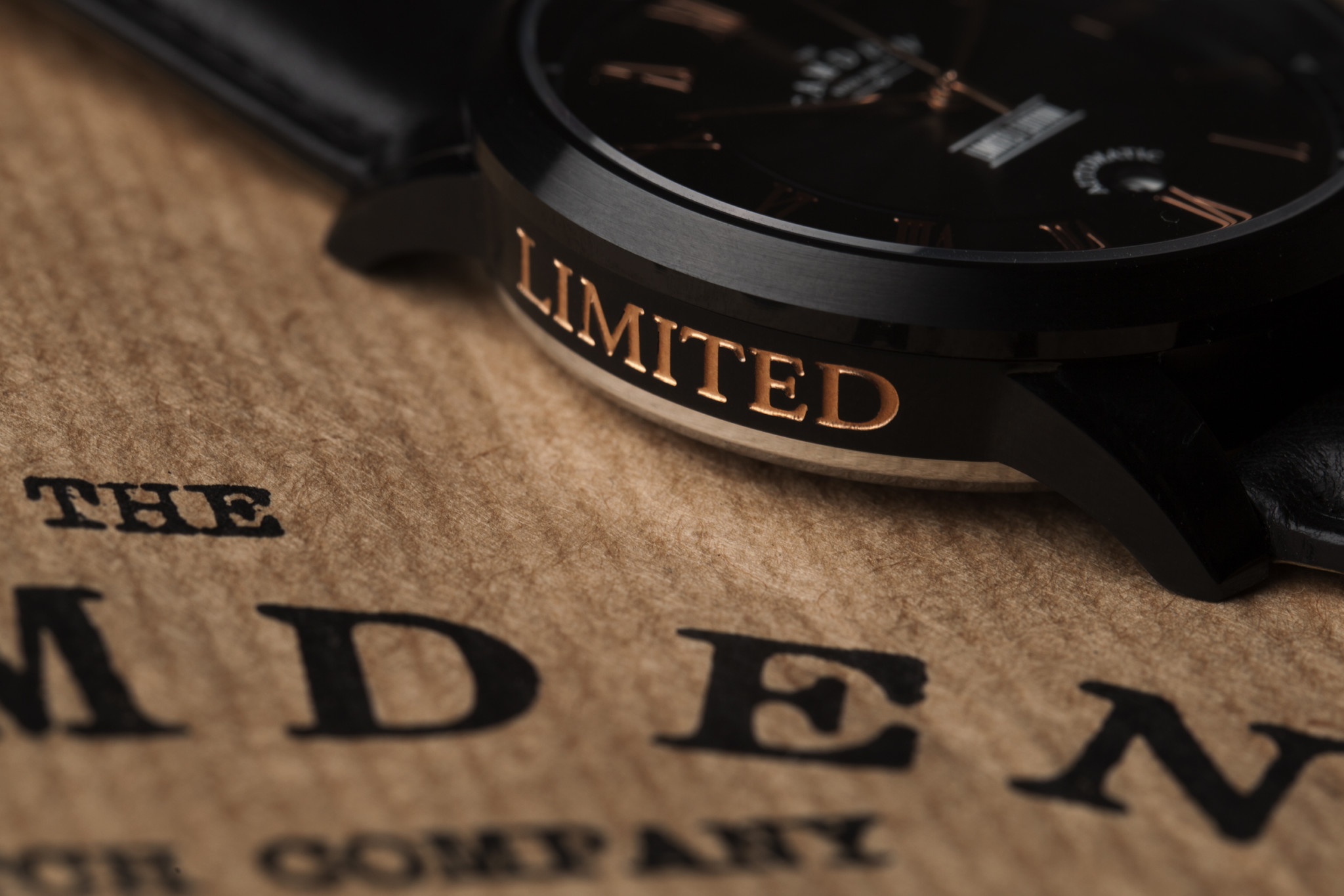 Camden Watch Company Limited Kickstarter Edition 2