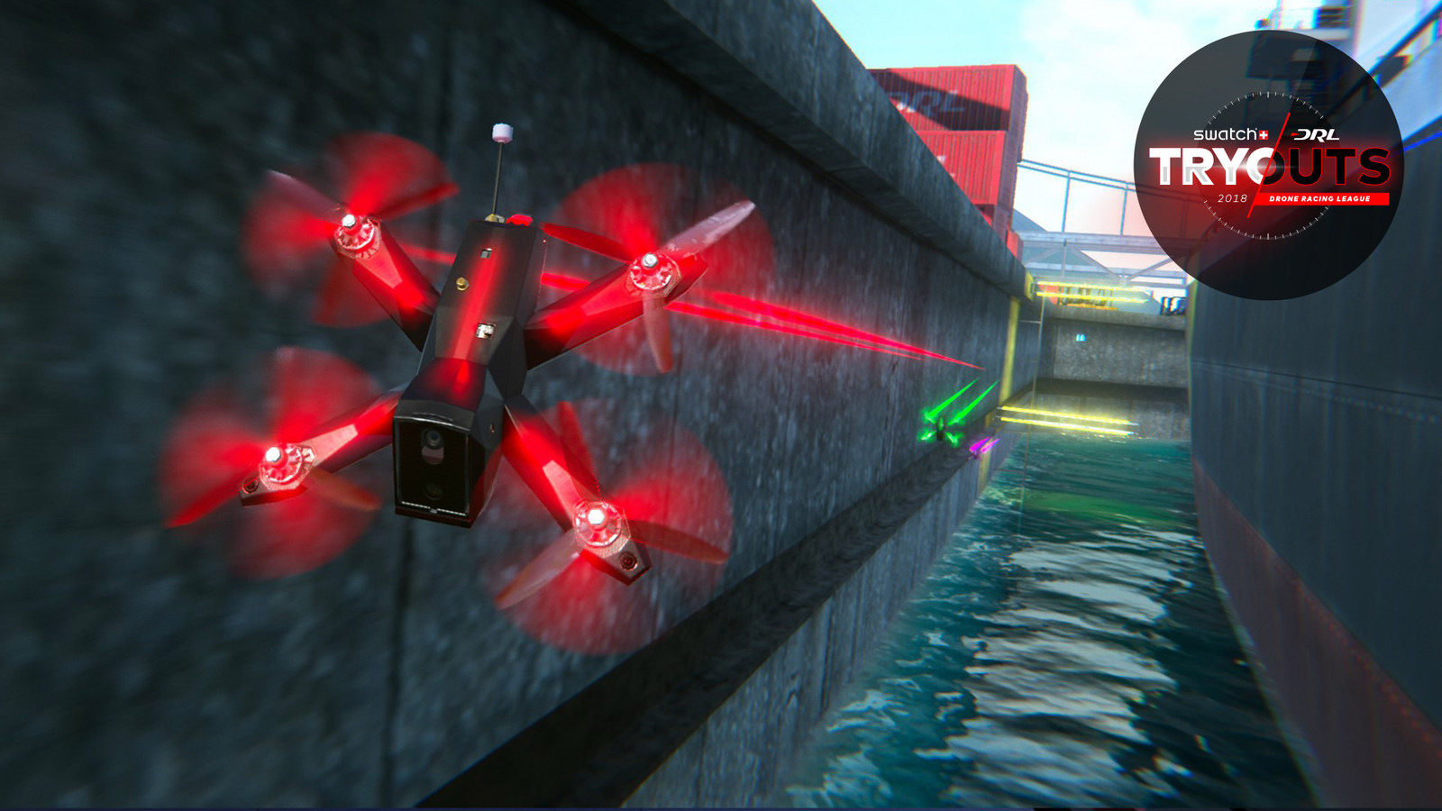 Drone Racing League Tryouts