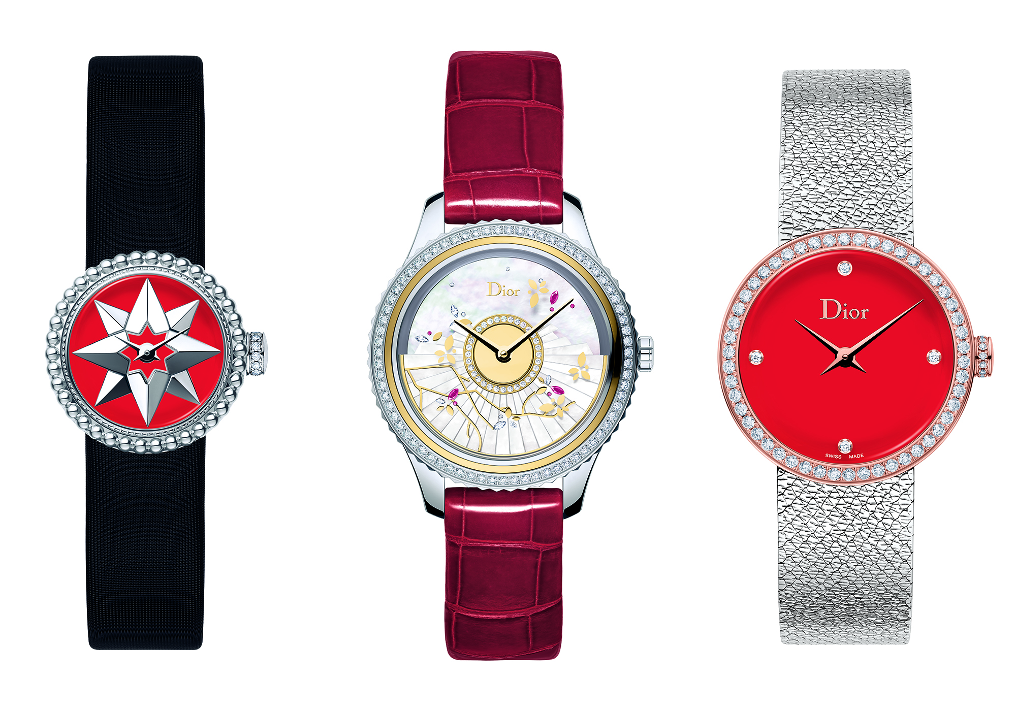 In Pictures Dior Timepieces Adopts China S Favourite Red