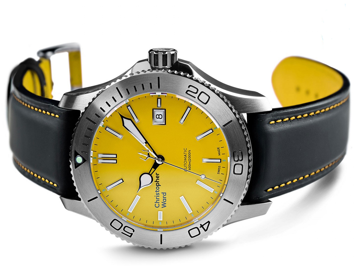 Christopher-Ward-C60-Trident-Yellow