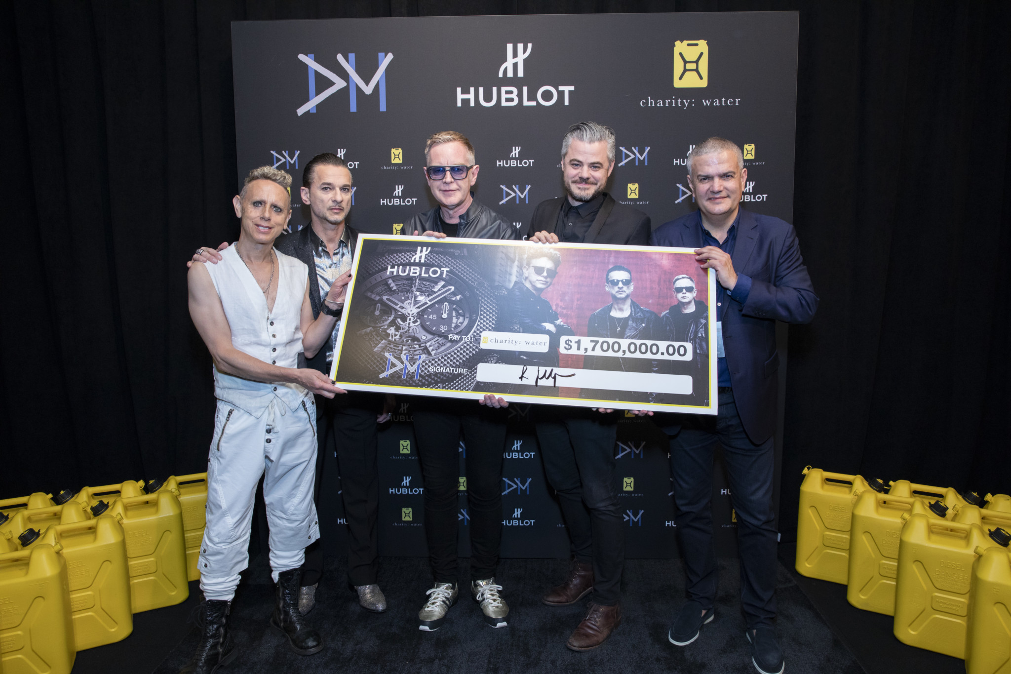 Hublot and Depeche Mode raise $1.7 million for water charity