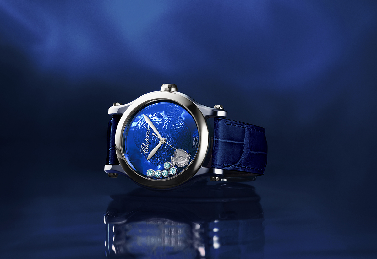 Chopard makes a splash with aquatic-inspired timepiece
