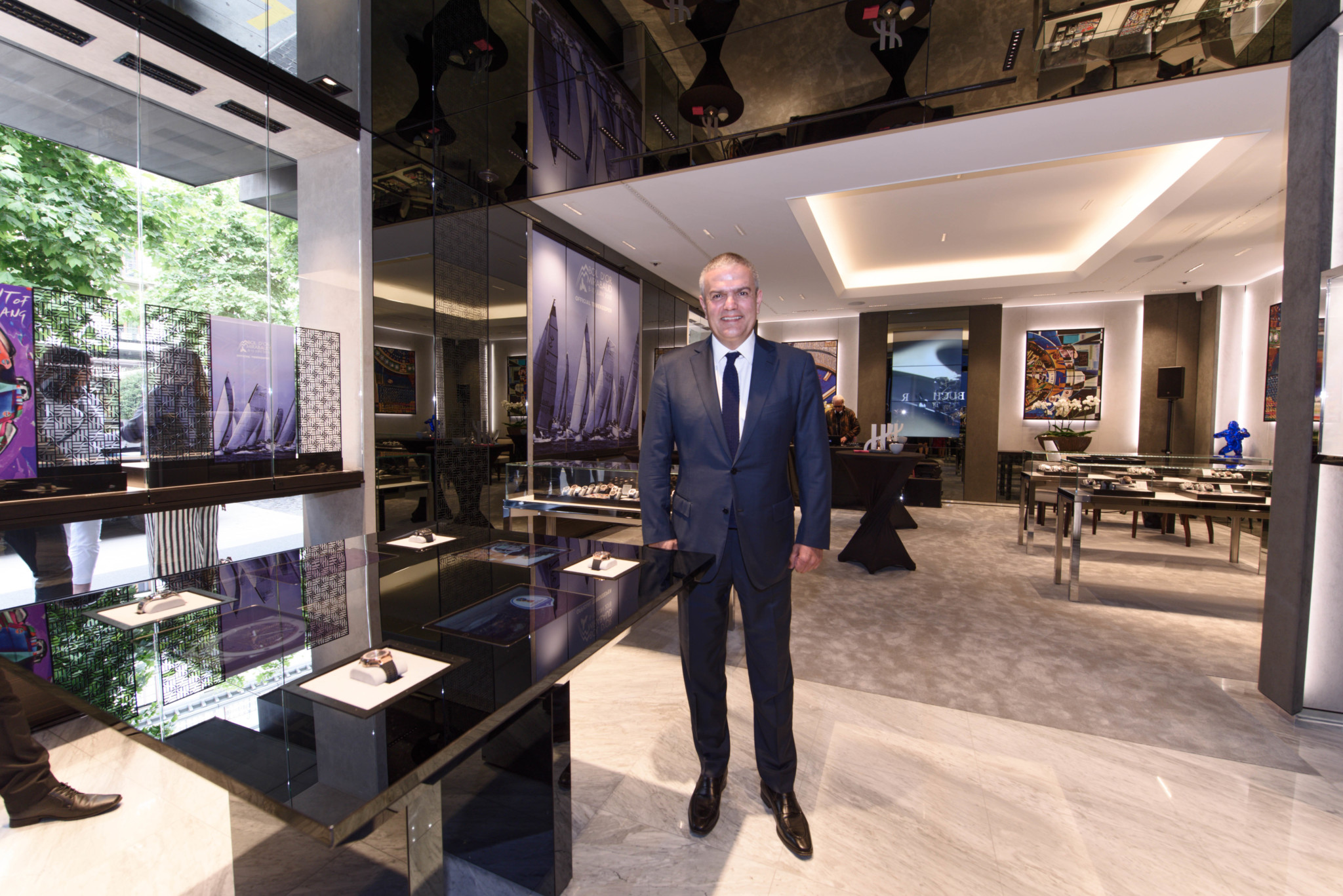 Hublot opens its 90th boutique in the world in home country of Switzerland