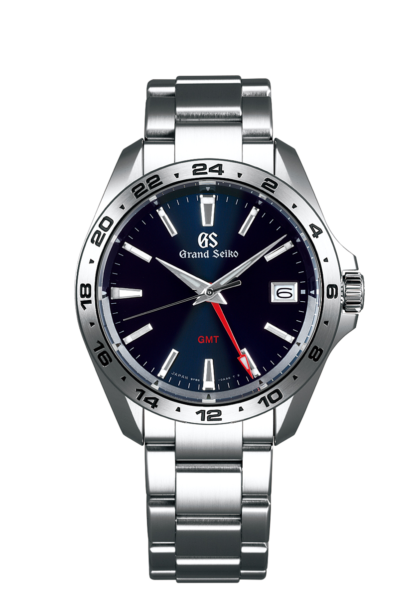 Grand seiko adds gmt function to its 25th anniversary sport watches watchpro for Celebrity seiko watch