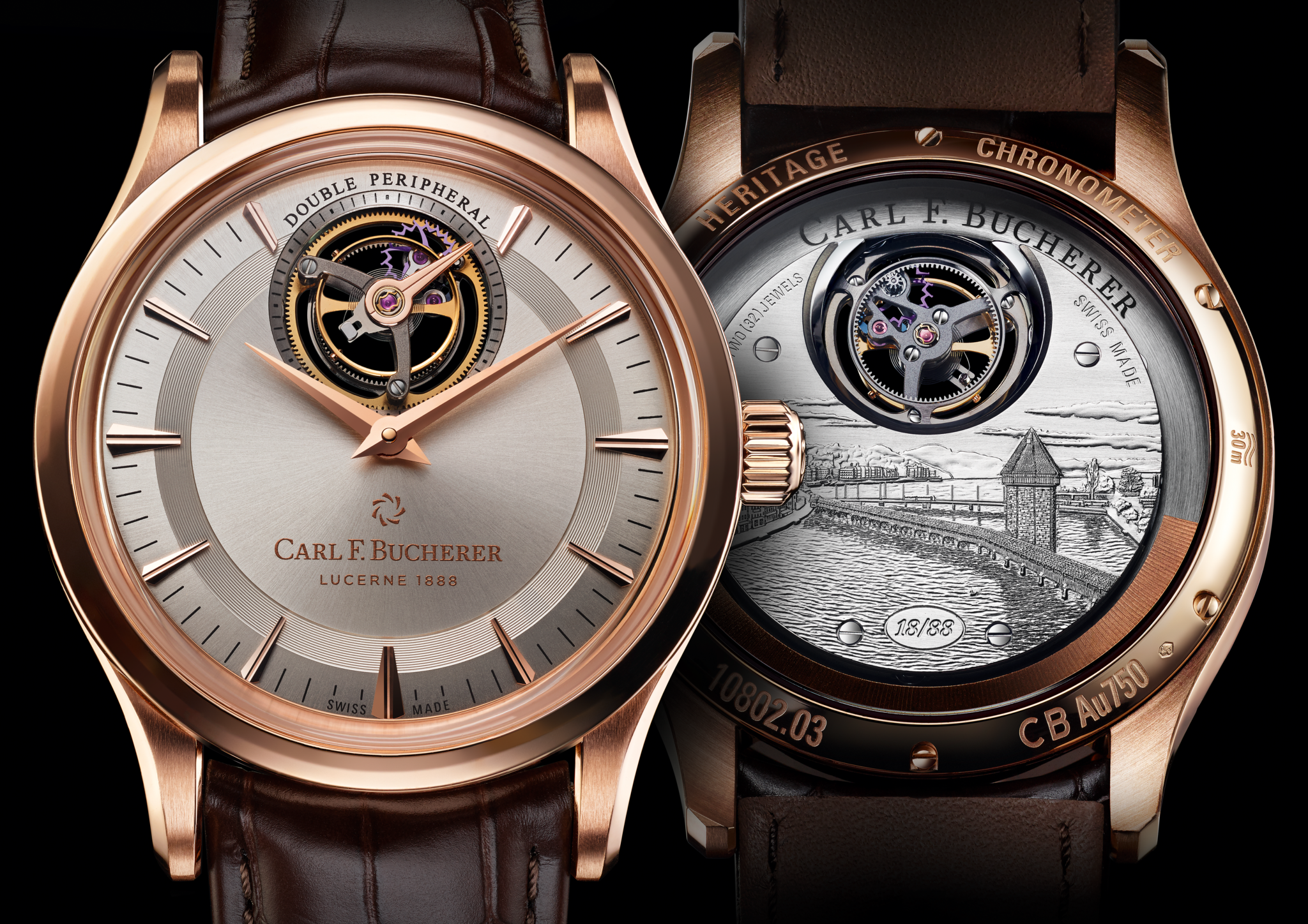 Carl F Bucherer Heritage double peripheral tourbillon