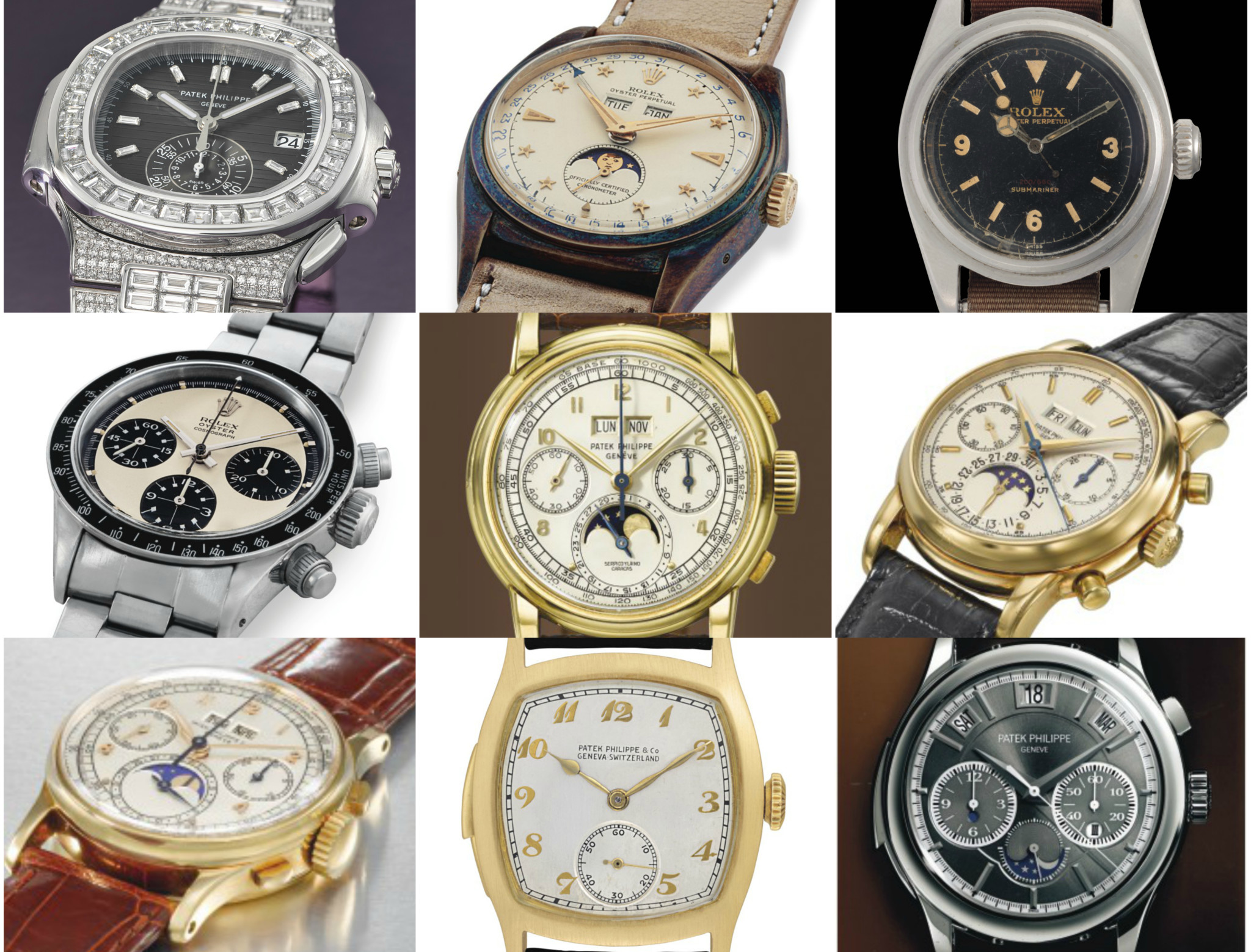 34c4ba0b4bc IN PICTURES  Christie s top 10 watches of 2018 that sold for almost  11  million