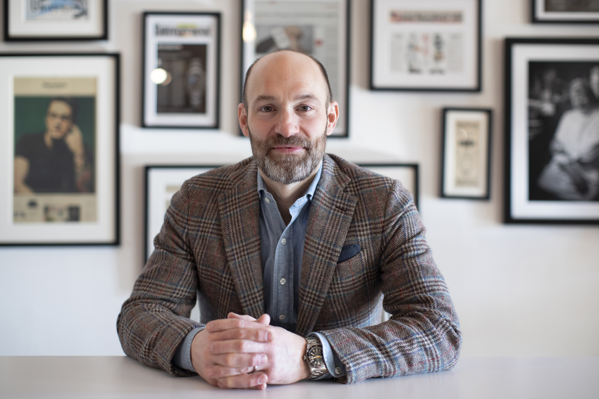 Russell Kelly, chief commercial officer of Hodinkee.