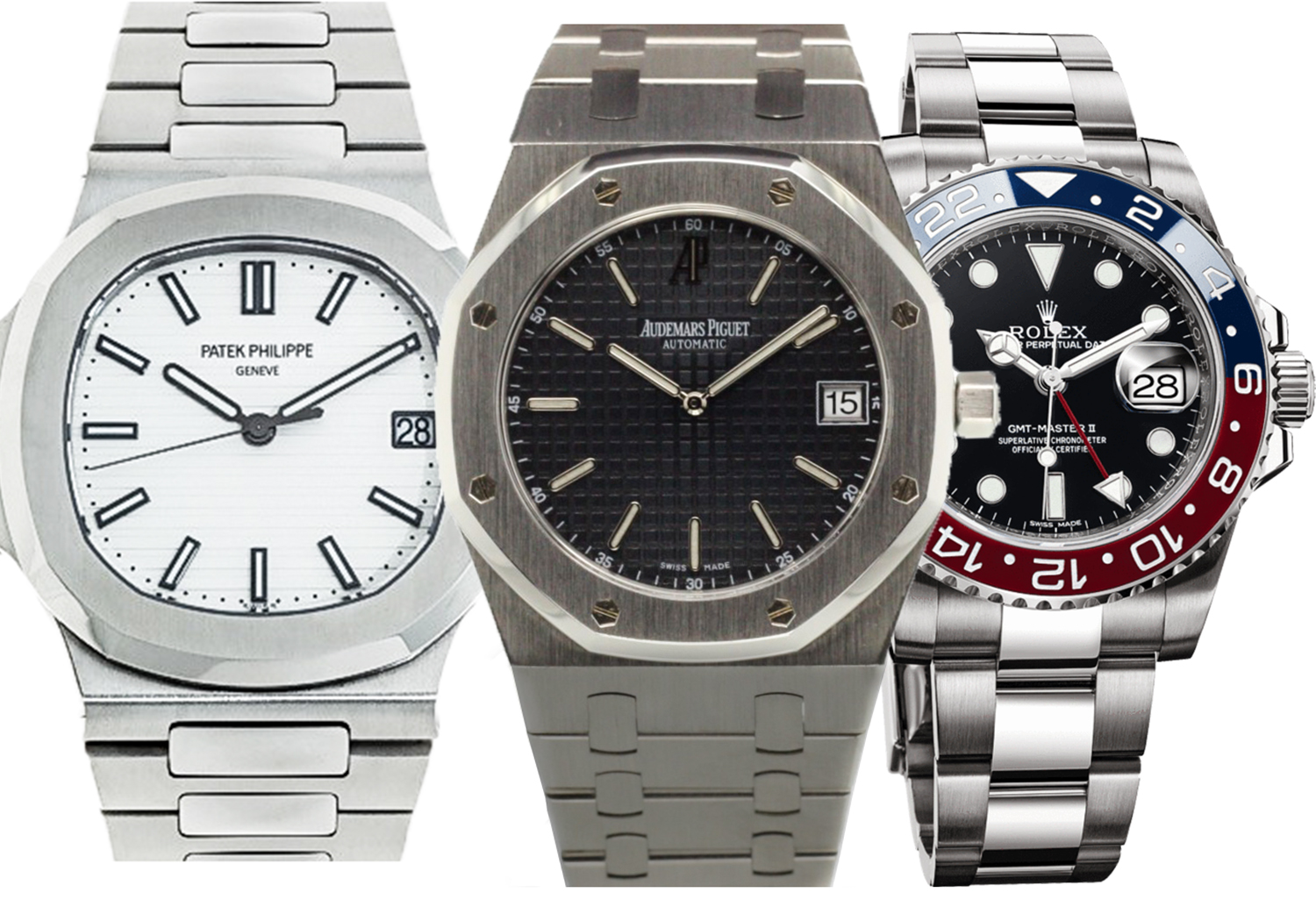 Which Way Now For For Rolex Patek Philippe And Audemars Piguet
