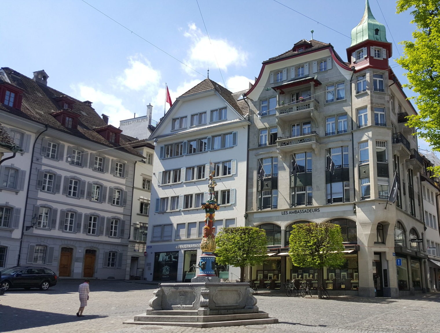 Lucerne – Outside