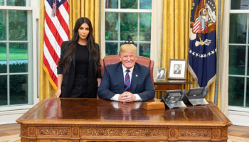 kim kardashian and Donald Trump