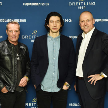 The Breitling Premier Norton Edition Arrives In New York At An Exclusive Event Hosted By Breitling Cinema Squad Member Adam Driver