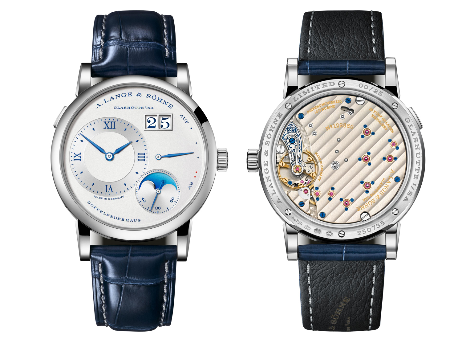 "LANGE 1 MOON PHASE ""25th Anniversary"""