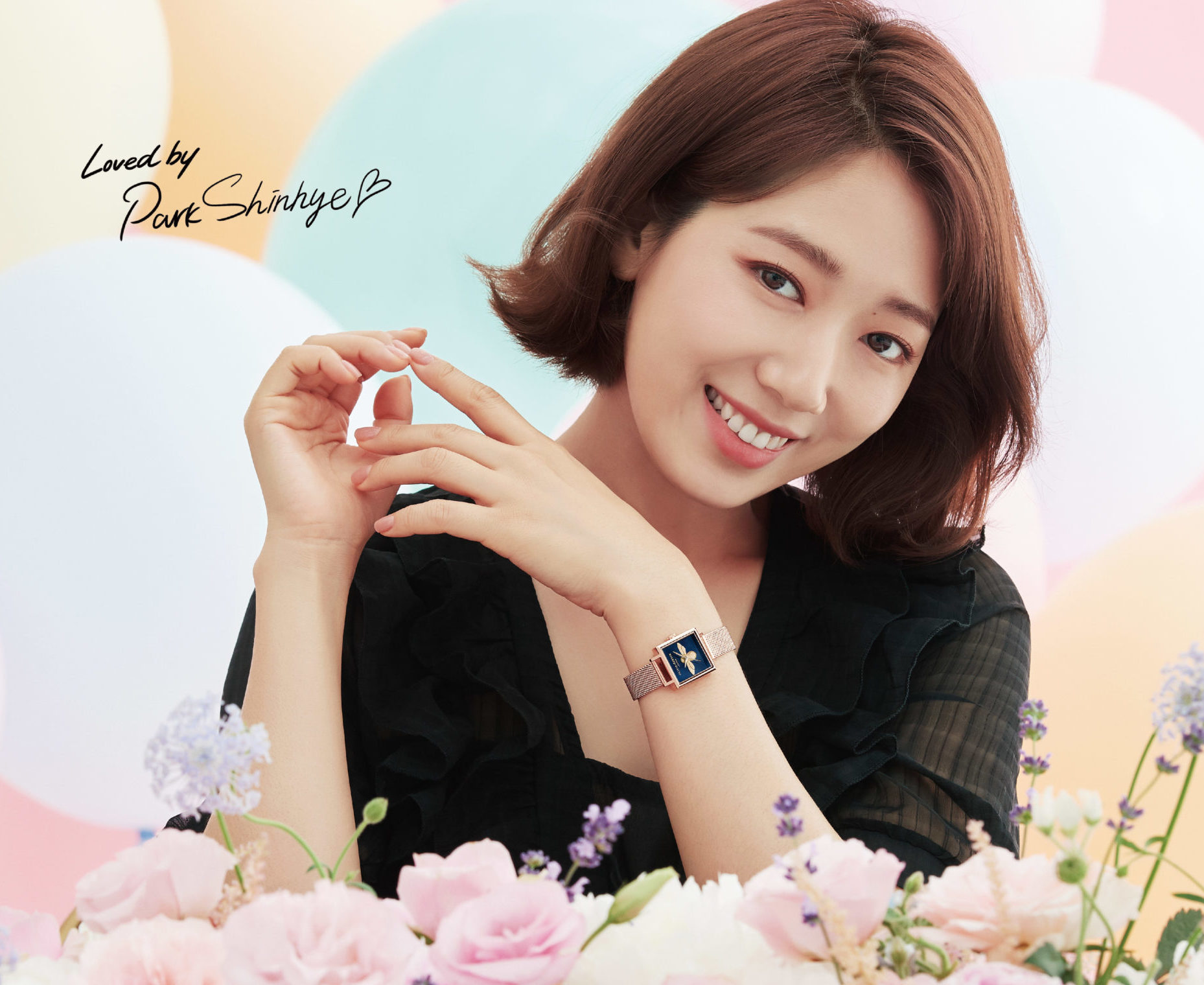 Best Investment Watches >> Movado's Olivia Burton appoints Korean actor Park Shin Hye ...