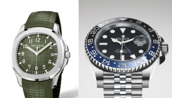 Patek Philippe Aquanaut and Rolex GMT Master II