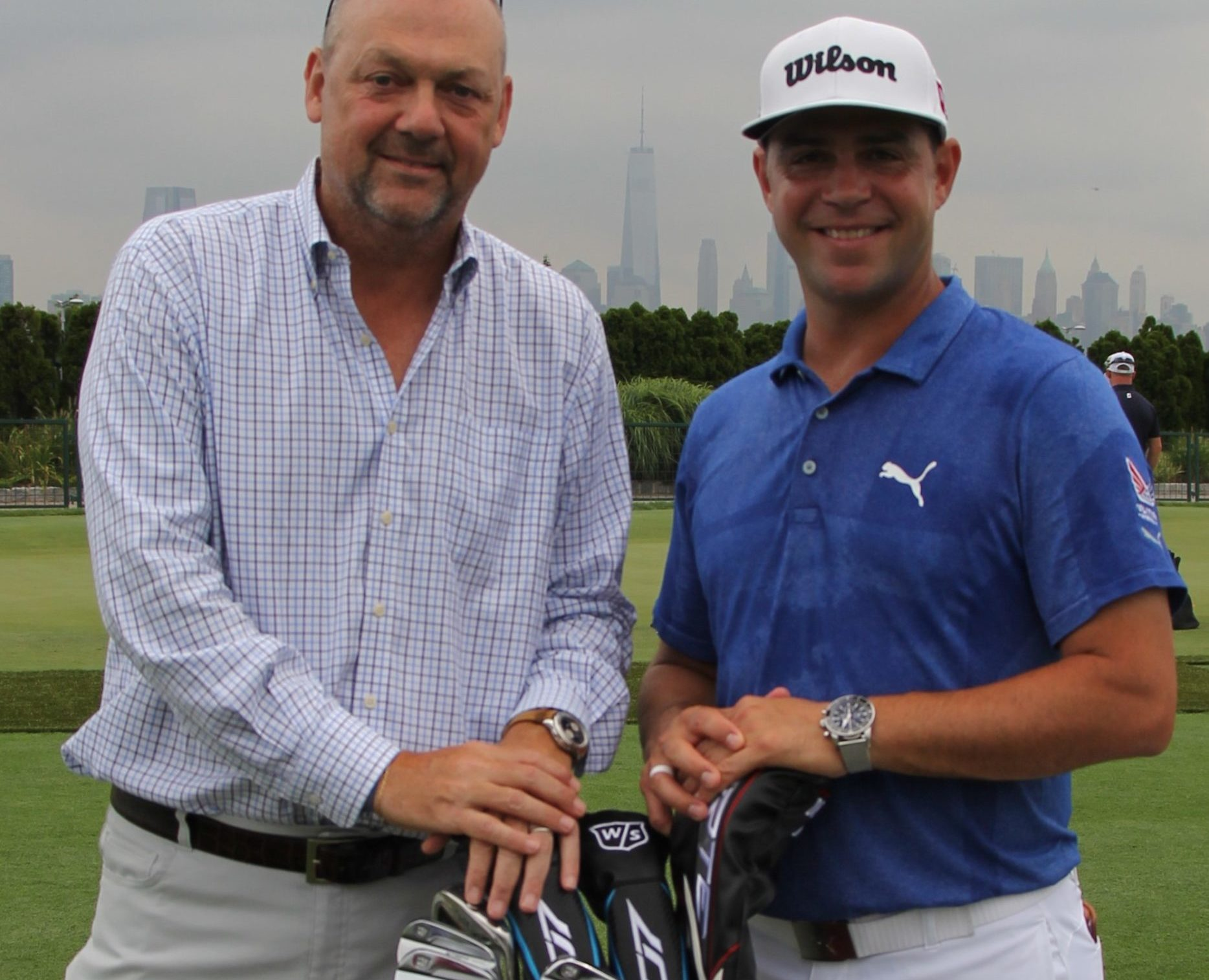Thierry Prissert and Gary Woodland_1