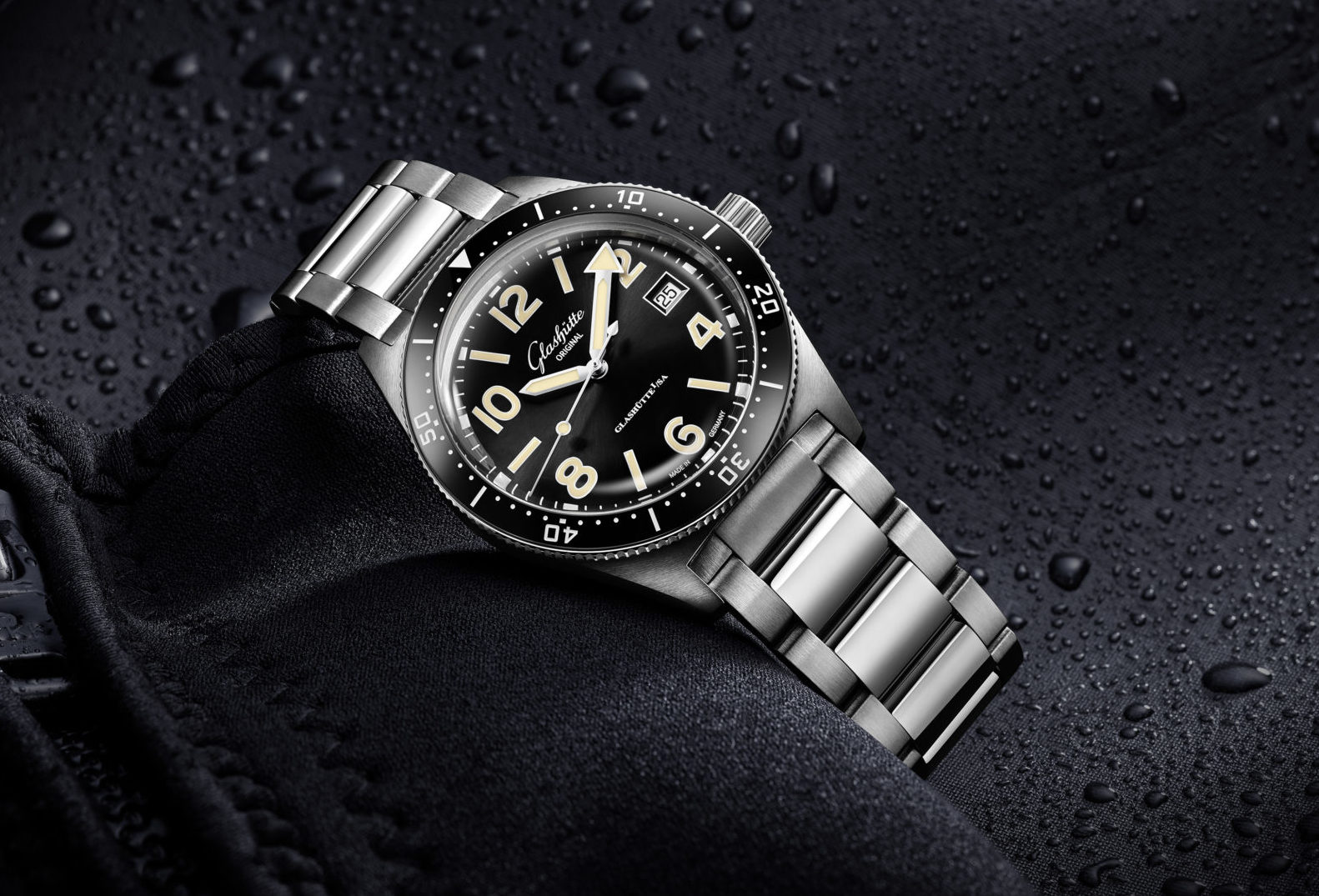 Glashütte Original introduces a fresh dive watch family 50 years after it first took the plunge