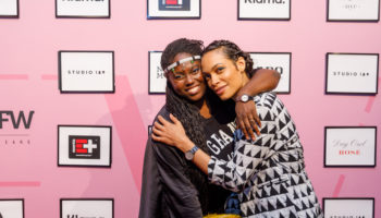 Rosario Dawson and Abrima Erwiah wearing Rado watches- Credit Shaun Vakil Pazmerica (002)