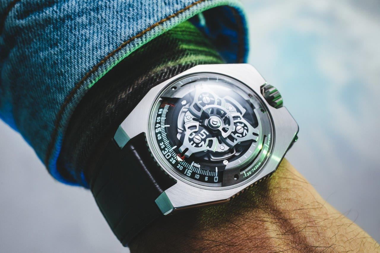 Urwerk measures space and time with...