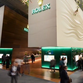 baselworld 2019; impression; hall 1.0; rolex; booth