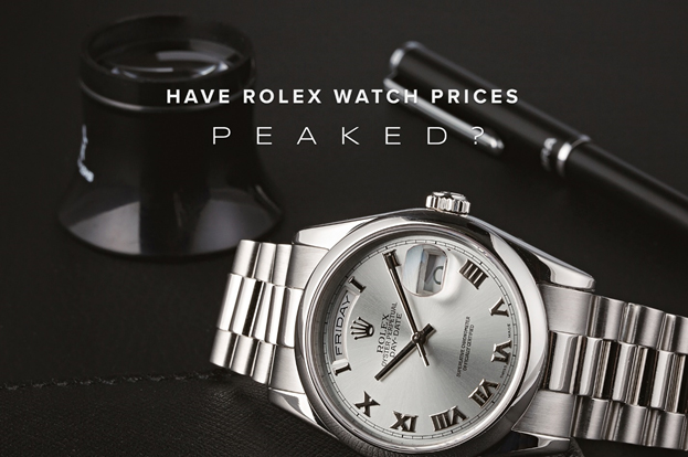 Rolex prices continue to rocket on secondary market