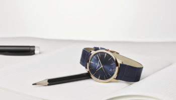 Patrimony blue self winding Ladies