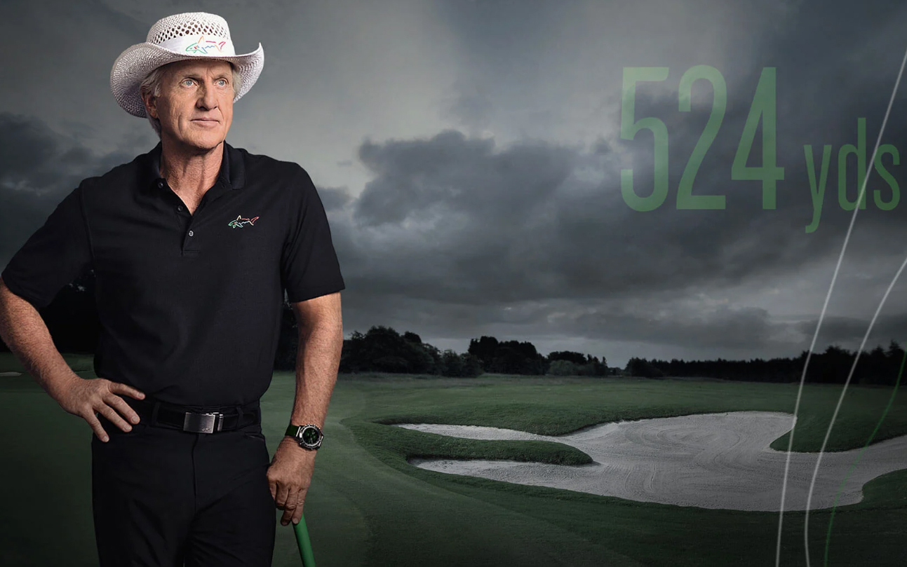 Greg Norman Garmin Marq